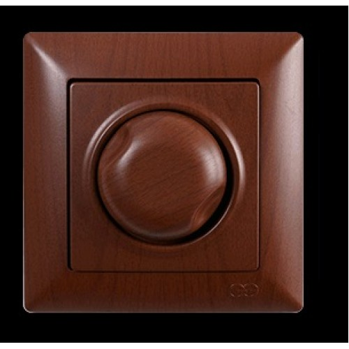 VS2820127 Светорегулятор 1000Вт с подсветкой ОРЕХ 01 28 20 00 100 127