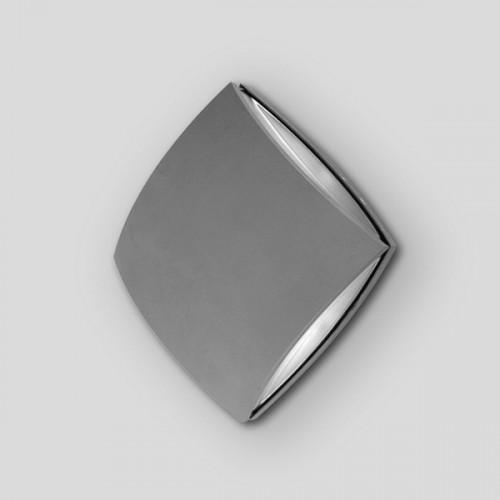 Sidney Светильник настенный квадратный 20х20см  4*3 (Grey) W1869 S