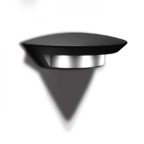 Sidney Светильник настенный полукруглый 35,4х18 8*3 (Grey) W1880S
