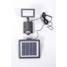 Прожектор настенный прямоуг 8*3led с датчиком (Grey) W6101S-PIR