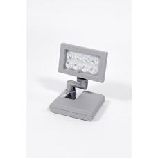 Прожектор прямоугольный 8*3led (Grey) W6101S S