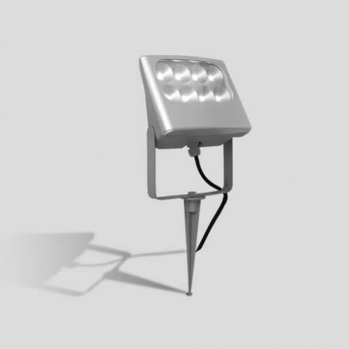Прожектор прямоугольный 8*3led на колышке (S) W6170-SP