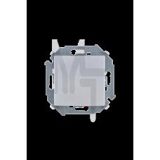 Выключатель одноклавишный, 16А, 250В, винтовой зажим, алюминий 1591101-033