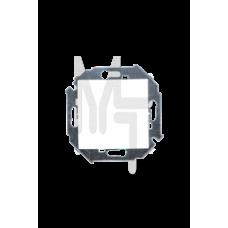 Выключатель одноклавишный , 16А, 250В, винтовой зажим, белый 1591101-030