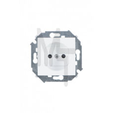 Розетка 2P, 16А, 250В, винтовой зажим, белый 1591431-030