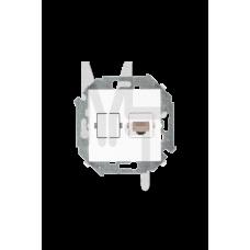 Розетка компьютерная RJ45 кат.5е, белый 1591598-030