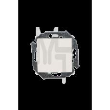 Выключатель проходной (переключатель) , 16А, 250В, винтовой зажим, слоновая кость 1591201-031