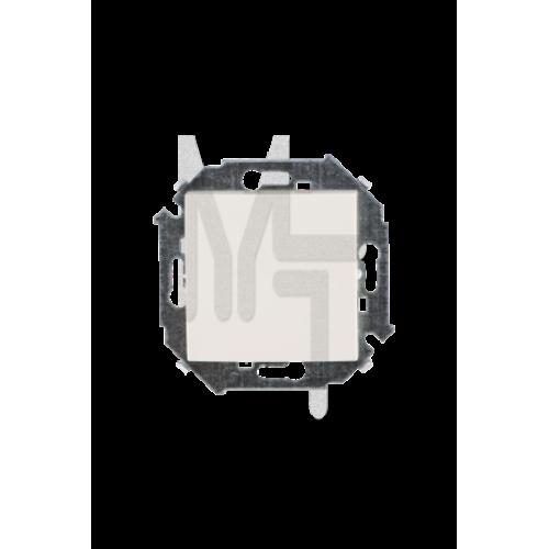 Выключатель одноклавишный проходной с 3-х мест (перекрёстный), 16А 250В, винтовой зажим, слоновая ко 1591251-031