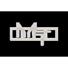 Рамка на 4 поста, слоновая кость 1500640-031