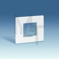 Рамка-база на 1 пост, 85х91мм, S27Pl, белый 2700610-030