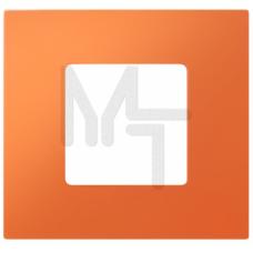 Декоративная накладка на рамку-базу, 2 поста, S27Pl, апельсин (10130150/140213/0002809/2, ИСПАНИЯ) 2700627-072
