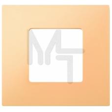 Декоративная накладка на рамку-базу, 2 поста, S27Pl, кремовый (10130040/161214/0009095/5, ИСПАНИЯ) 2700627-070