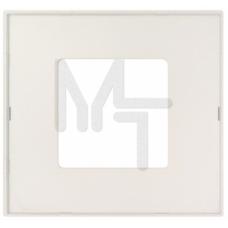Накладка декоративная на рамку базовую, 2 поста, S27 Play, прозрачный 2700627-108