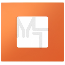 Декоративная накладка на рамку-базу, 4 поста, S27Pl, апельсин 2700647-072