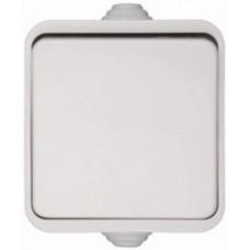 Выключатель одноклавишный, 10А, 250В, S34, белый 34101-030