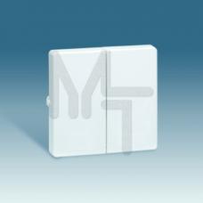 Клавиша (2шт) для выключателя двухклавишного, S73 Loft, графит 73026-62
