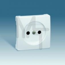 Накладка со шторками на розетку без заземления, S73 Loft, графит 73040-62