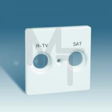 Накладка для спутниковых радио-телевизионных розеток, S82, S82N, 82 Detail, графит 82097-38