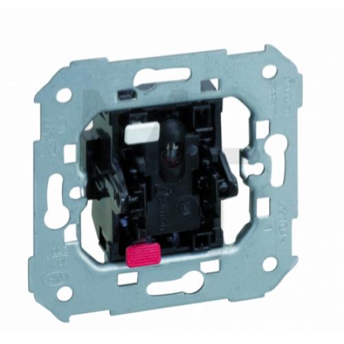 Выключатель однополюсый с подсветкой, 10А 250В, S82,82N,88, механизм 75104-39