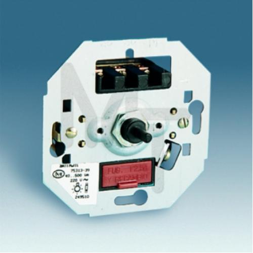 Регулятор напряжения поворотно-нажимной, 40-300Вт 230В, S27,82,82N,88, механизм 75311-39