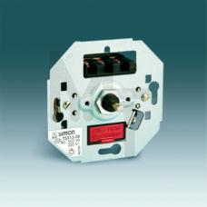 Светорегулятор поворотно-нажимной (проходной), 40-500Вт 230В/элм.трс.350ВА, S82,82N,88 (10130040/030 75313-39