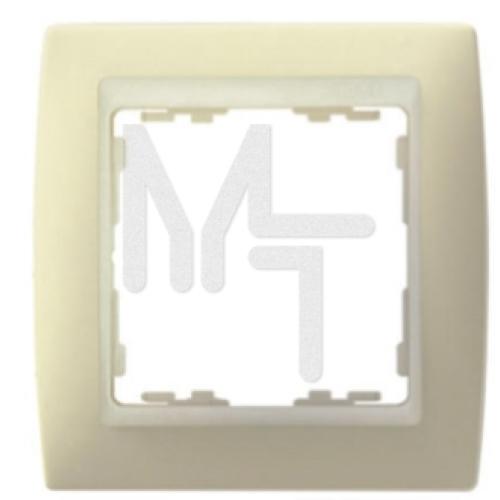 Рамка декоративная, 2 поста, S82, слоновая кость-слоновая кость 82720-31