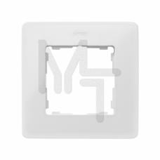 Рамка на 1 пост,  теплый белый, 82 Detail 8200610-029