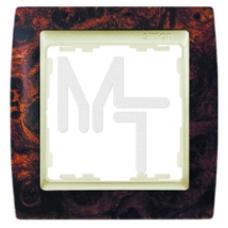 Рамка на 2 поста, S82, корень ореха - шампань (10130040/211014/0007492/1, ИСПАНИЯ) 82925-68