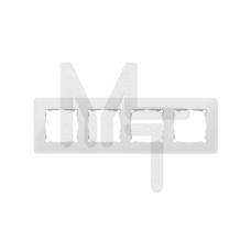 Рамка декоративная, 4 поста, Original, S82 Detail, белый-тростниковый сахар 8200640-029