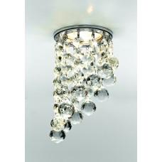 Встраиваемый точечный светильник K205C CL/CH хром/прозрачный MR16 K205C CL/CH