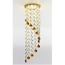 Встраиваемый точечный светильник K3440 CL/BR/G золото/прозрачно-коричневый MR16 K3440 CL/BR/G