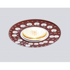 Светильник A801 AL/BR алюминий/коричневый MR16 *A801AL/BR