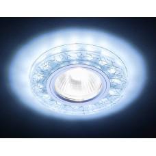Светильник S226 W/CH/C белый/серебро/MR16+3W(LED COLD) S226W/CH/C