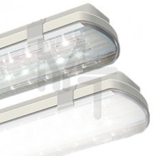 Рассеиватель для промышленных IP65 1300*135мм прозрачный полистирол V2-I0-IPP0-00.3.0023.18