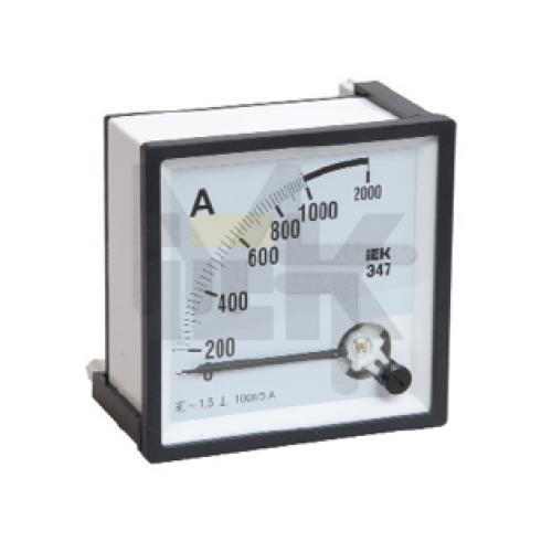 Амперметр Э47 150/5А кл. точн. 1,5 96х96мм IPA20-6-0150-E