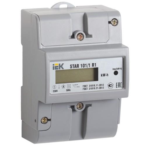 Счетчик эл. энергии однофазный STAR 101/1 R1-5(60)М CCE-1R1-1-01-1