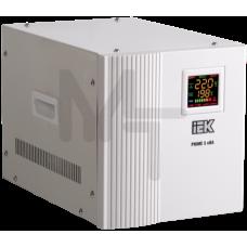 Стабилизатор напряжения переносной серии Prime 5 кВА IEK IVS31-1-05000