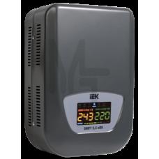 Стабилизатор напряжения настенный серии Shift 3,5 кВА IEK IVS12-1-03500