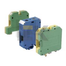 Зажим наборный ЗНИ-2,5мм2 (JXB24А) синий ИЭК YZN10-002-K07