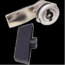 Замок-защелка для металлического бокса с пластмассовым ключом (22-17/46) YZK20-00