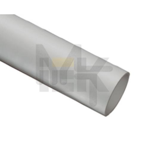 Труба гладкая жесткая ПВХ d63 серая (15м) 3м ИЕК CTR10-063-K41-015I