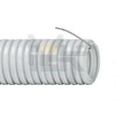 Труба гофр.ПВХ d16 с зондом (100м) ИЕК CTG20-16-K41-100I