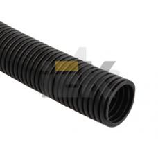 Труба гофр.ПНД d16 с зондом (100м) черный ИЕК CTG20-16-K02-100-1