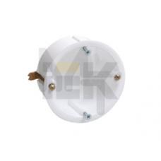 Коробка КМ40021 установочная d65х45мм для полых стен (с саморезами и мет. лапками) UKG10-065-040-000-M