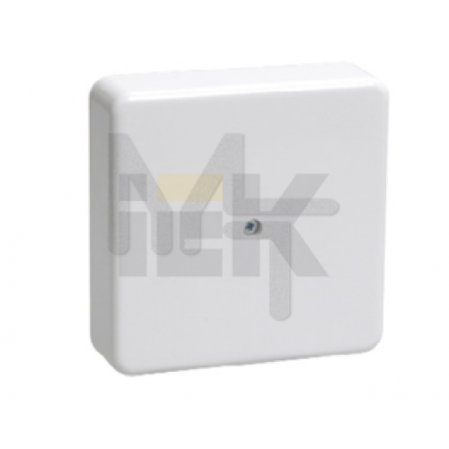 Коробка КМ41212-01 распаячная для о/п 75х75х20 мм белая (6 клемм 6мм2) UKO10-075-075-020-K01
