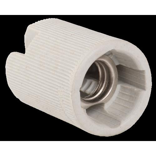 Пкр14-04-К43 Патрон подвесной керамический, Е14 (400 шт), стикер на изделии, IEK EPC20-04-01-K01