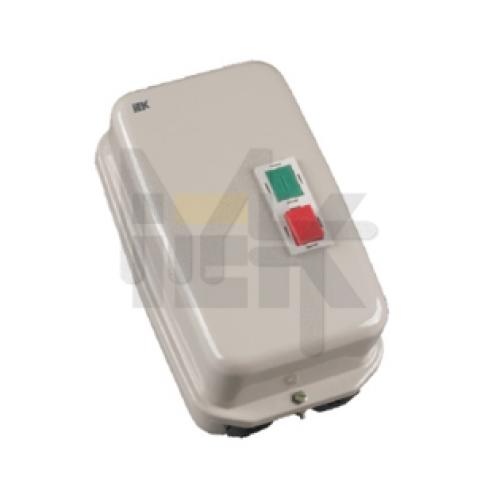 Контактор КМИ35062 50А в оболочке Ue=220В/АС3  IP54 ИЭК KKM36-050-220-00