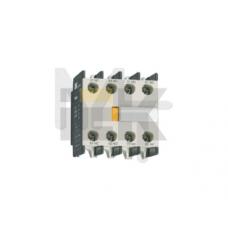 Приставка ПКИ-40 доп.контакты 4з   ИЭК KPK10-40