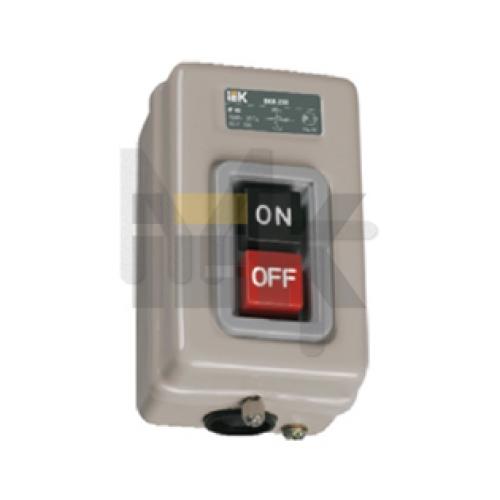 Выключатель ВКИ-230 3Р  16А 230/400В IP40  ИЭК KVK30-16-3