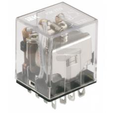 Реле РЭК77/3(LY3) с индикацией 10А 24В DC ИЭК RRP10-3-10-024D-LED